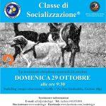 domenica 29 ottobre CLASSE DI SOCIALIZZAZIONE® (CDS)