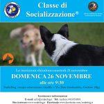 domenica 26 novembre CLASSE DI SOCIALIZZAZIONE® (CDS)