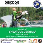 DA SABATO 26 GENNAIO DISCDOG il gioco del frisbee con il cane – 1° LIVELLO