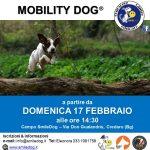 MOBILITYDOG® 1° livello – da DOMENICA 17 febbraio