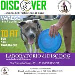 Discover il gioco del frisbee con il cane – 6 e 7 aprile Varese