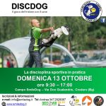 SEMINARIO DISC DOG – 13 OTTOBRE a Credaro (Bergamo)