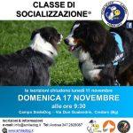 CLASSE DI SOCIALIZZAZIONE® 17 NOVEMBRE '19