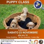 PUPPYCLASS 2.0 – DA SABATO 23 NOVEMBRE – CUCCIOLI ALLA RISCOSSA
