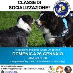 CLASSE DI SOCIALIZZAZIONE® 26 GENNAIO 2020