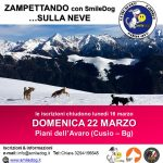 ZAMPETTANDO SULLA NEVE – PIANI DELL'AVARO (BG) 22 MARZO 2020 // ANNULLATO