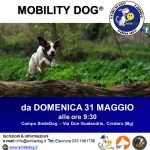 MOBILITYDOG® – DA DOMENICA 31 MAGGIO