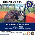 JUNIOR CLASS – dedicato agli adolescenti