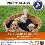 PUPPY CLASS – da Giovedì 25 giugno